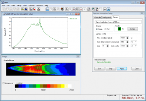 ICCD | LP980 Transient Absorption (Flash Photolysis) Spectrometer Software
