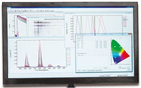 Minitau Fluorescence Lifetime Spectrometer Software