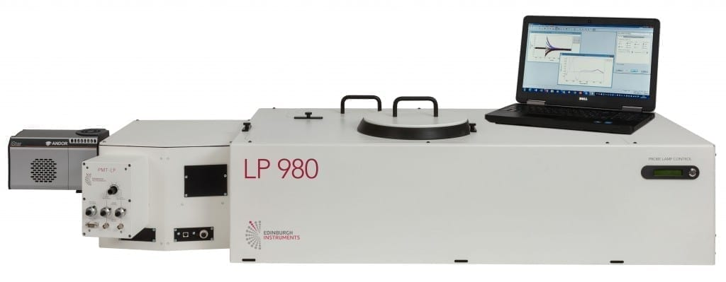 Laser Flash Photolysis, LP980 Spectrometer