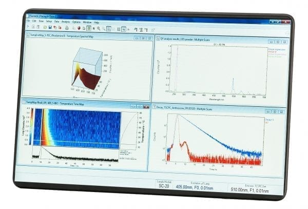 Photoluminescence Spectrometer Software