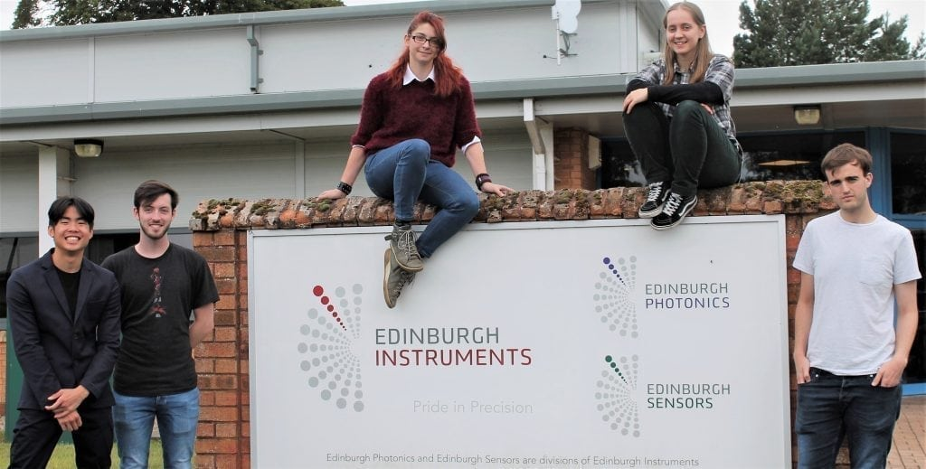 Young Business Professional at Edinburgh Instruments