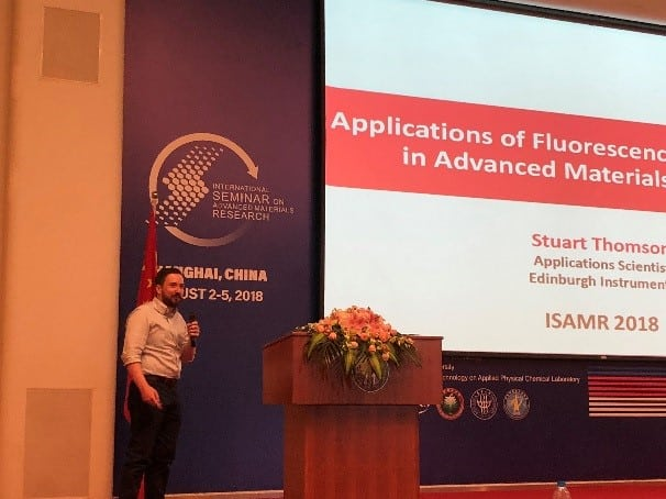 Applications of Fluorescence Spectroscopy in Advanced Materials Research, ISAMR 2018, China.
