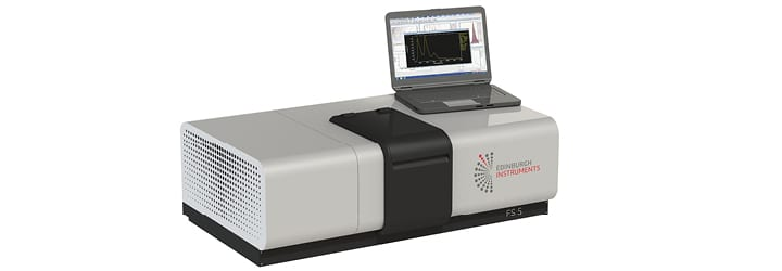 FS5 Spectrofluorometer for chromaticity coordinates
