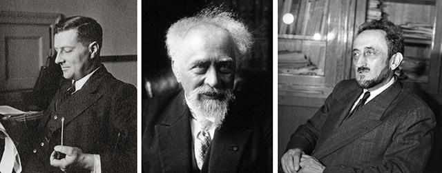 Aleksander Jablonski, Jean Perrin, Francis Perrin