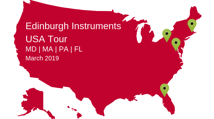 Edinburgh Instruments USA Tour