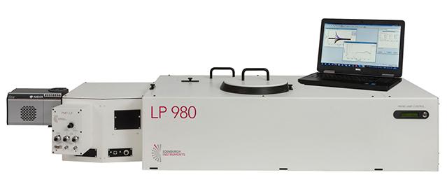 Edinburgh Instruments LP980 Transient Absorption Spectrometer.
