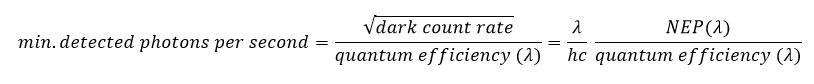 Photoluminescence detector - photomultiplier tube - photomultiplier detector