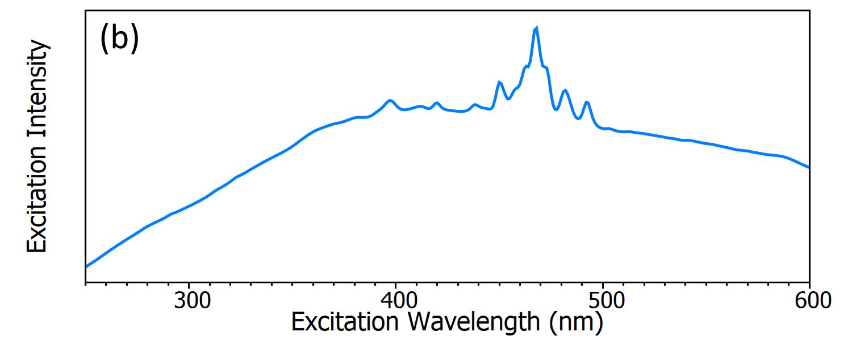 Excitation Intensity / Excitation Wavelength
