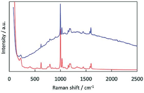Paracetamol / Caffeine / Phenylephrine Hydrochloride tablet - Raman spectroscopy