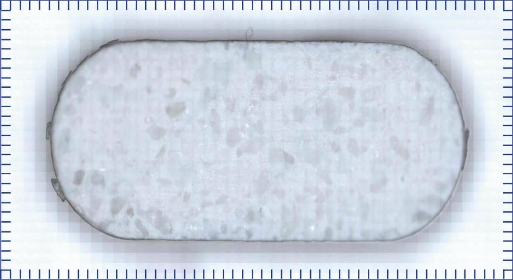 Raman Spectra: White light image of pharmaceutical tablet