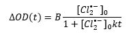 Equation used in photocatalysis research