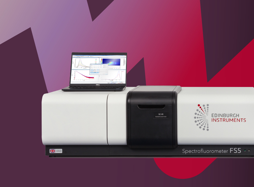 FS5 Spectrofluorometer. The FS5 is a fully integrated, purpose-built spectrofluorometer. Suited for analytical and research laboratories
