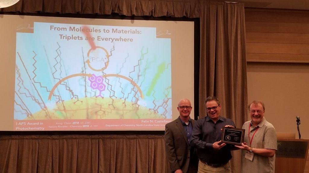 IAPS Award in Photochemistry