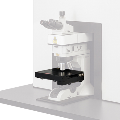 Raman microscope sample holder - upgrade
