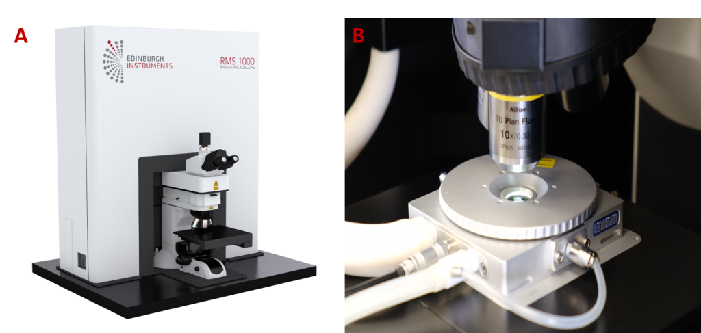 RMS100 Microscope & Temp stage
