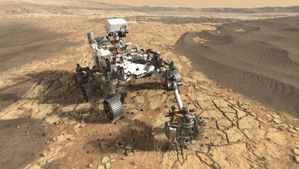 Perseverance searching for life on Mars